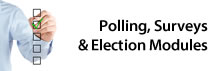 Polling, Surveys & Election Modules